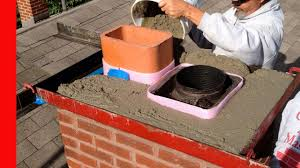 Fireplace Repair Austin by How To Repair A Bad Chimney Crown Youtube