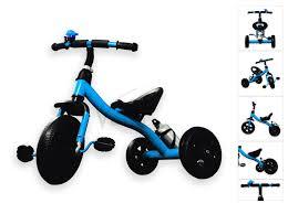 velu baby kids toddler children infant 3 wheel tricycle trike bike