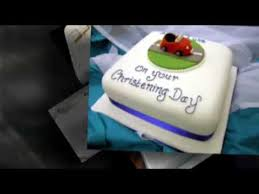 How To Decorate Christening Cake Cake Decorating Christening Cakes Youtube