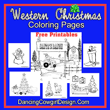 western christmas stockings dancing cowgirl design