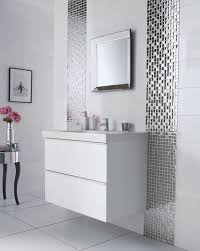 mirror tiles for bathroom walls 29 ideas to use all 4 bahtroom border tile types digsdigs