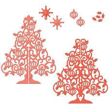 spellbinders shapeabilities die 3d christmas tree 24 99