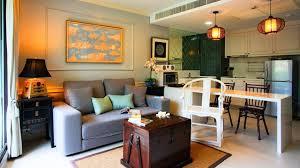 Living Room Kitchen bo Small Space Design Ideas
