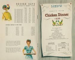 knott s berry farm the original menu at the chicken dinner