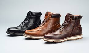 groupon s boots tony s casuals s clark moc toe boots groupon