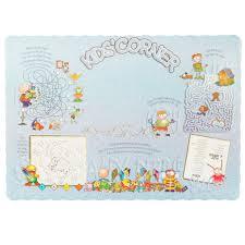 kids placemats paper kids placemats webstaurantstore