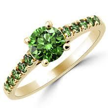 green wedding rings green engagement rings wedding rings matching sets