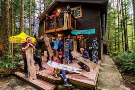 crafted backyard board building transworld snowboarding