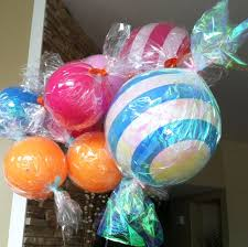 cheap balloons diy candy wrapped balloons cheap kid s party craft