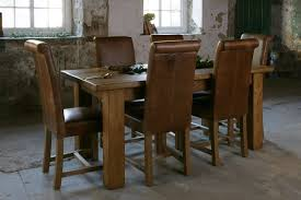 Plank Dining Room Table Awesome Chunky Dining Room Table Images Home Design Ideas