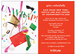 kate spade christmas party sips snacks and holiday shopping