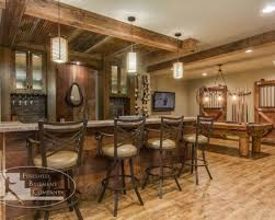 basement ideas pinterest basement bar ideas with country style