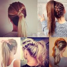 ponytail hairstyles for 7 easy and chic ponytail hairstyle for girls back to school