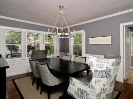 Transitional Dining Room Furniture Gray Dining Room