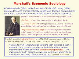 classical economic sociology lecture sociology docsity