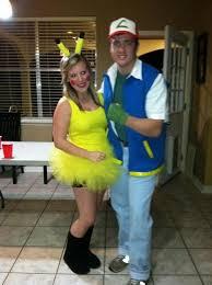 Halloween Costumes Pikachu Diy Couples Halloween Costumes