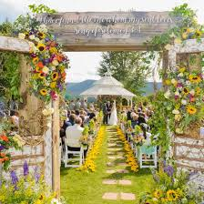 sunflower wedding sunflower wedding gallery weddinggawker