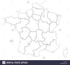 France Regions Map by Blank Outline Maps Of France Outline Of France Clip Art At