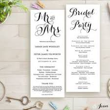wedding menu sles wedding reception program sle service kid s wedding ideas