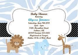 Safari Boy Baby Shower Ideas - baby shower invitations boy safari u2013 diabetesmang info