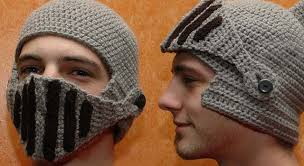 crochet pattern knight helmet free helmet hat