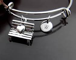 Personalized Park Bench Park Bench Charm Etsy
