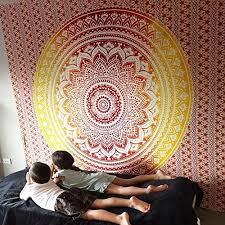tapestry home decor marubhumi tm big mandala hippie tapestry hippie wall hanging