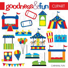 buy clipart buy 2 get 1 free carnival clipart digital goodnessandfun