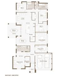 Floor Plan Designs Extraordinary 80 House Plans With Office Inspiration Design Of