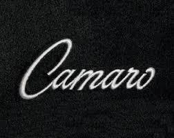 camaro logos custom fit camaro logo floor mats floor mats all models