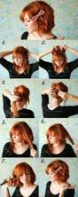 Diy Fashion Projects Diy Short Hair No Cutting Hairstyle Do It Yourself Fashion Tips