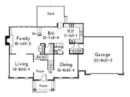 traditional house floor plans hshire colonial home plan 001d 0017 house plans and more