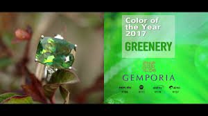 green gemstones inspired by pantone color of the year 2017 youtube
