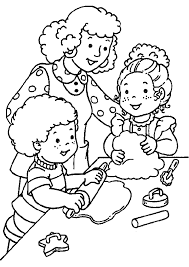 coloring pages of people pictures of people helping others free download clip art free