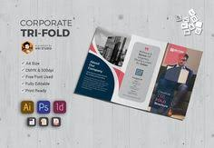 corporate brochure template v598 by template shop on