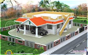 indian house exterior designs kerala home design and floor plans