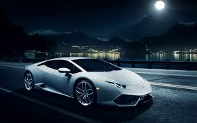 galaxy lamborghini wallpaper hd background lamborghini huracan lp 610 4 side view white night