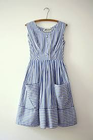 nautical attire nautical dress with pockets be still my heart blue and white