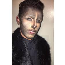 halloween werewolf makeup on instagram