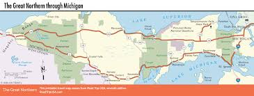 Where Is Michigan On The Map by The Great Northern Route Us 2 Road Trip Usa
