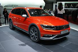 volkswagen passat wagon volkswagen launches jacked up 4wd passat wagon