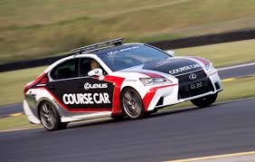 lexus cars with v8 lexus enters 2015 v8 supercars events with official rc f safety car