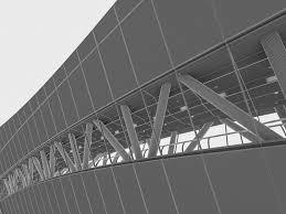 kingdom centre kingdom centre skybridge interior 3d asset cgtrader
