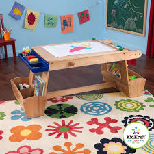 kids art table with storage kidkraft drying rack and storage kids arts and crafts table