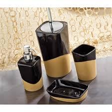 Black Bathroom Accessories by Bathroom Accessory Sets Thebathoutlet Com