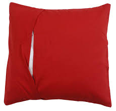 Home Decor Wholesale Supplier by Wholesale Pure Cotton Red Cushion Cover In Bulk 16x16 U201d Hand