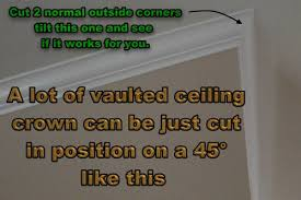 Crown Moulding On Vaulted Ceiling by Crown Molding And Vaulted Ceilings