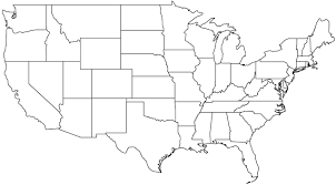 map of us states empty empty map of us states usa48mer thempfa org