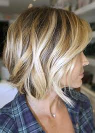 vies of side and back of wavy bob hairstyles side view of the angled bob hairstyle wave bob haircut