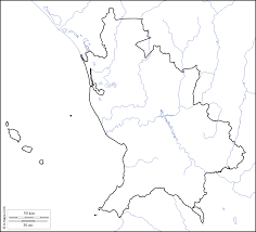 Nayarit Mexico Map by Nayarit Free Map Free Blank Map Free Outline Map Free Base Map